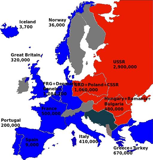La salvación económica y la deuda con el nuevo orden mundial: el Plan Marshall o European Recovery Program (ERP). La reconstrucción europea partir de una unión basada en la ofensiva contra el bloque del este y bajo los auspicios de las inversiones americanas.