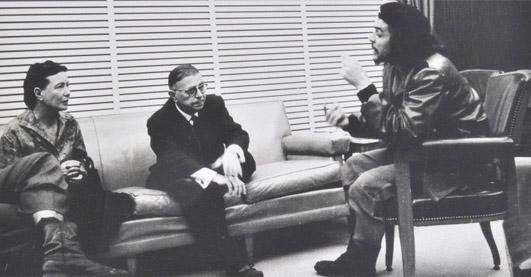Sartre: la mala fe: hacer del yo un objeto deseable y ser dominado, dominar al otro, o ser indiferente (imposible); la angustia de ser libre.