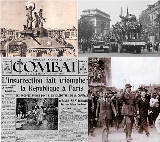 """La Liberation. Agosto del 1944: """"París no era una prioridad"""". De Gaulle alertó a los aliados: si vencía la resistencia en París, el comunismo se extendería en Europa."""