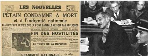 La parodia del arrepentimiento y la culpa: el Juicio a Pétain y al presidente del gobierno Vichy Pierre Leval no abrió un proceso de asunción de responsabilidades ni de aclaración de lo sucedido.