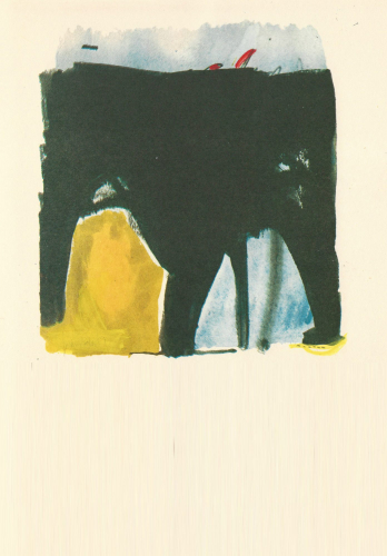 Dibujo de Juan Vida en El Viajero (plaquette, 1981)