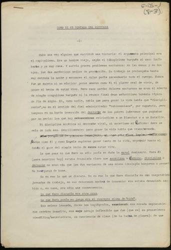 Mecanoscrito de Juan Carlos Rodríguez E-MS-1 (8-3)