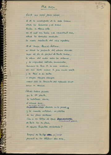 Manuscrito Javier Egea 19 de mayo (A boca de parir) E-MS-2 (3-3)