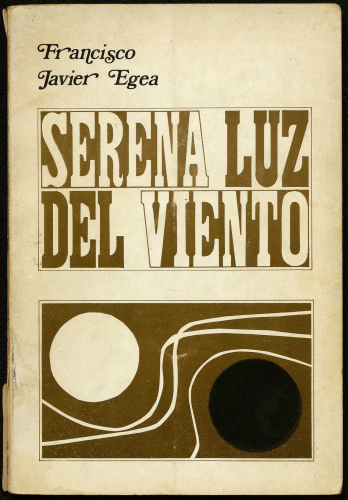 Primera edición Serena luz del viento (Universidad de Granada, 1973)E-DEPOSITO 3 (11)