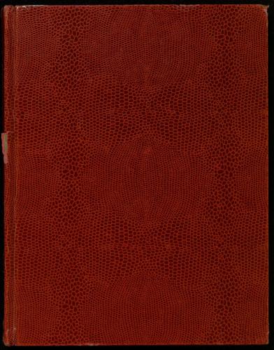 Cbierta cuaderno de notas Sonetos del diente de oro. E-MS-1 (2-24)