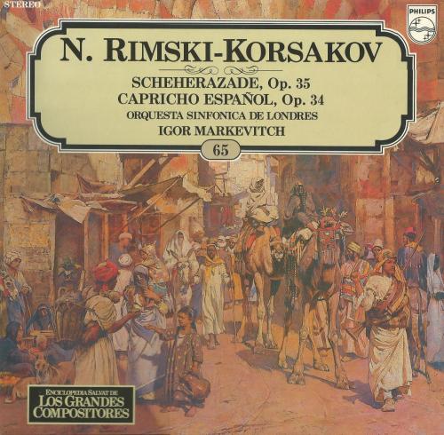 Vinilo Scherezade de Rimski-Korsakov